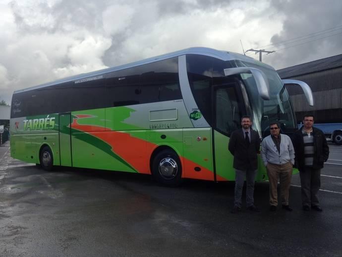 Castrosua entrega una unidad Stellae a la empresa Autocars Tarres