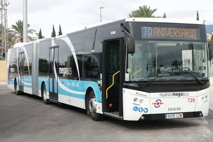 Málaga confirma el pedido de 10 unidades híbridas de 18,75 metros