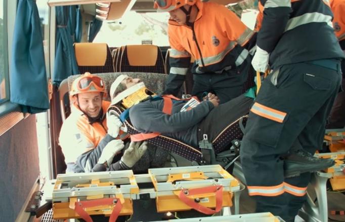 E-Rescue ya ha instalado 4.000 asientos salvavidas en 70 autocares
