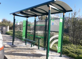 92 marquesinas adaptadas a personas con movilidad reducida para Andalucia