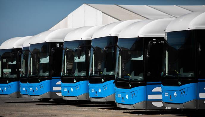 Scania concreta la entrega de los últimos 184 buses a EMT Madrid