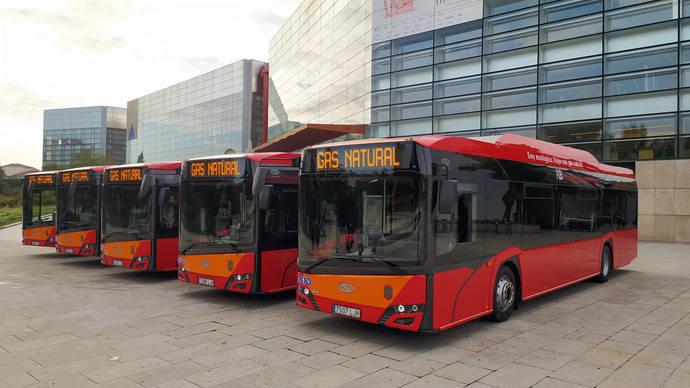 Burgos renueva su flota urbana con gas natural de la mano de Solaris