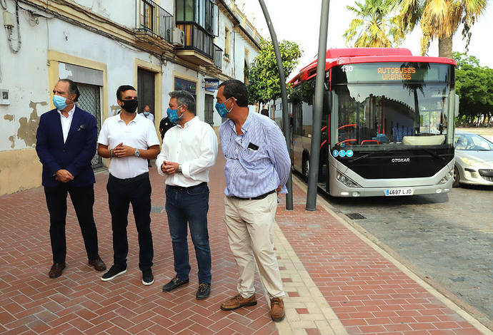 Jerez incorpora un nuevo Otokar Kent de gas natural