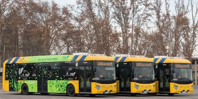 Autobuses de Lleida apuesta por modernizar la flota de buses urbanos de la ciudad