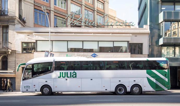 Autocares Julià certifica su acción frente al virus