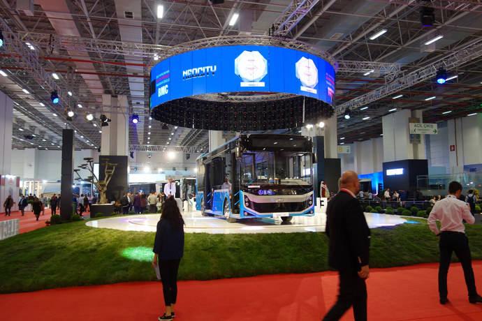 El primer Busworld Turquía celebrado en la ciudad de Izmir es todo un éxito