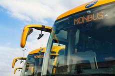 Monbus y el AMB presentan el nuevo servicio de Aerobús en Barcelona