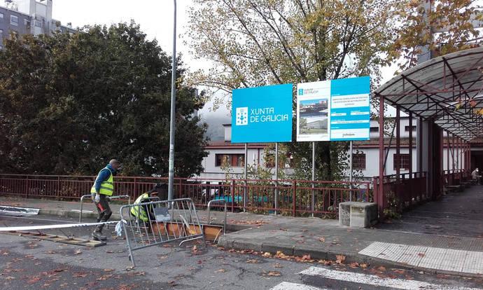 La Xunta inicia las obras de demolición de la actual terminal de Ourense