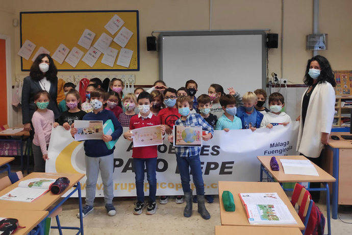 La educación vial tiene premio entre los escolares de Málaga
