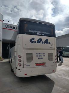 Otokar recibe su primer pedido de COA Melilla