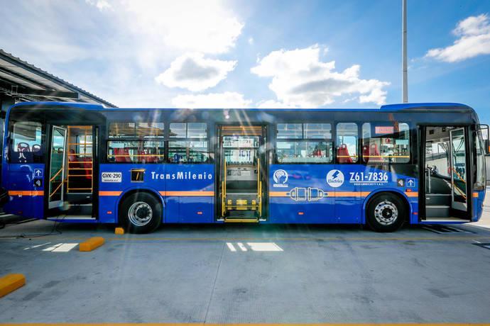 BYD se adjudica un concurso de 406 autobuses eléctricos en Bogotá