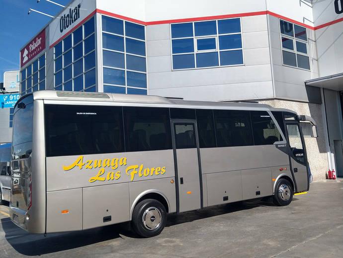 Autocares Azuaga las Flores incorpora su primer Otokar a la flota