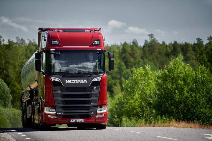 Scania presenta su nueva gama de motores V8 con sorpresa: 770 CV