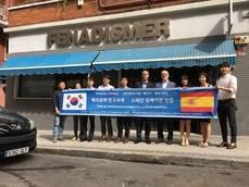 Reunión con Corea del Sur.