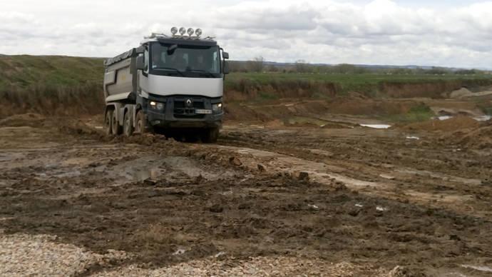 Optitrack+, nuevo impulso para los Renault Trucks de construcción
