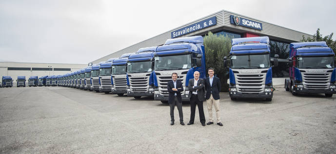 Transports Canyaes apuesta por Scania para ampliar flota