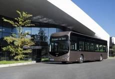 Irizar ie bus de 12 metros de longitud.