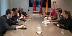 Reunión del CEIM con el PP en Madrid.