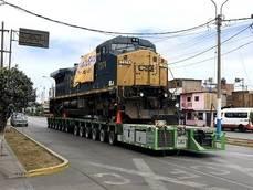 Locomotora entregada por Dachser.