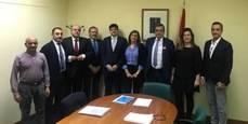Reunión entre Aetram y la Comunidad de Madrid.