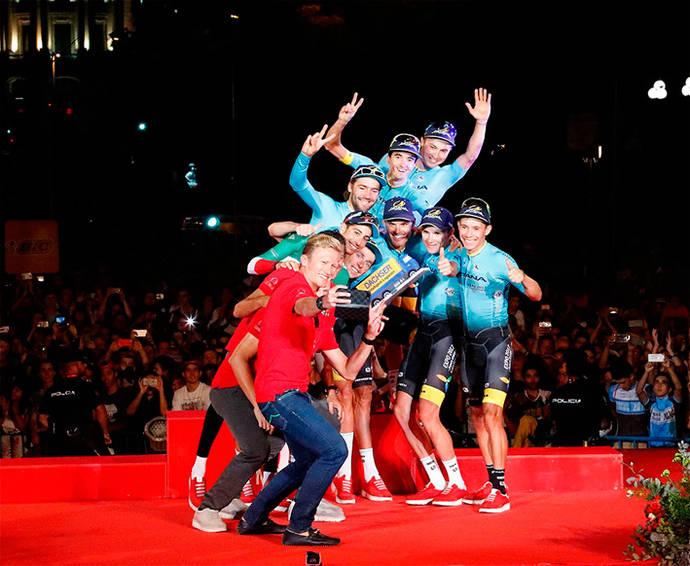Exito de Dachser como proveedor de La Vuelta