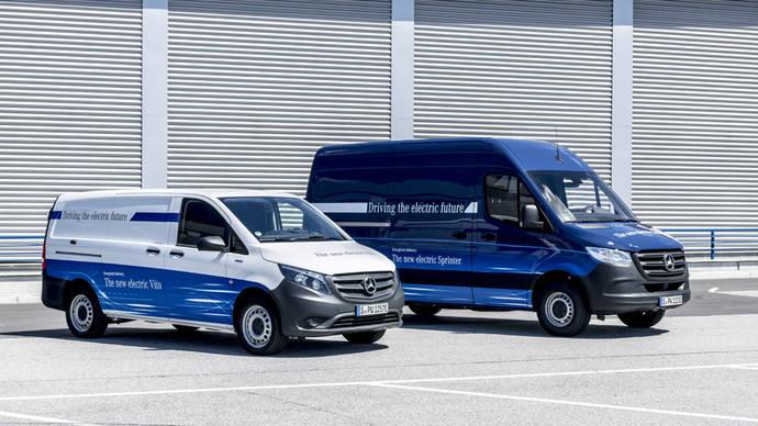 La electricidad marcará el futuro inmediato de los comerciales de Mercedes
