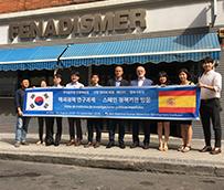 Fenadismer recibe a una delegación surcoreana en España