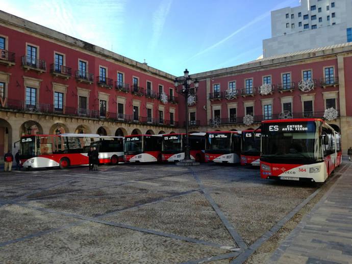Seis Urbanway de Iveco para Emtusa Gijón