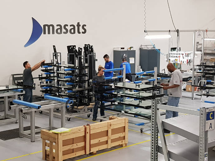 La planta de Masats en USA inicia su producción
