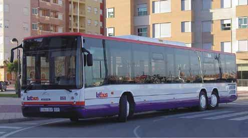 Renovación de las líneas de Murcia