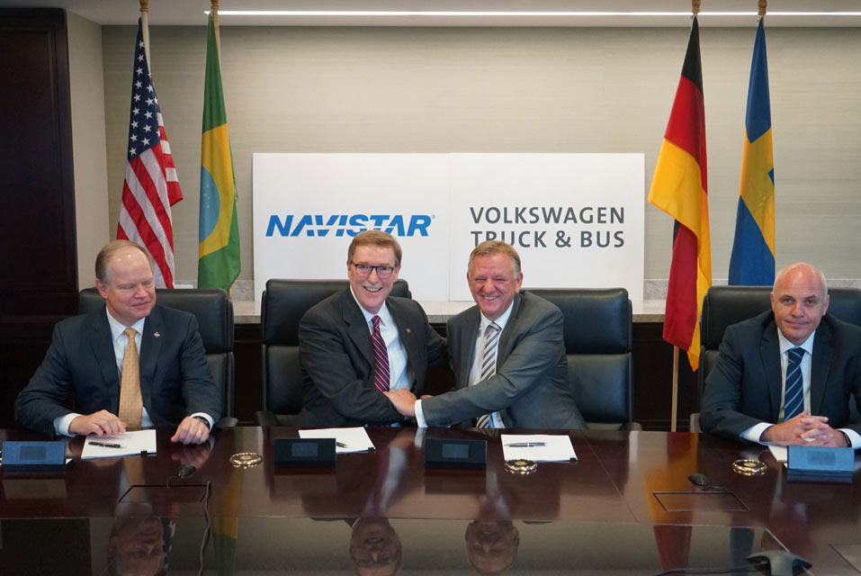 Navistar se incorpora parcialmente a Volkswagen Truck & Bus