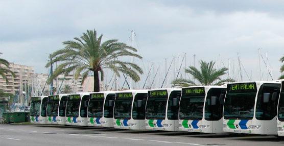Palma inicia la renovación de 95 autobuses