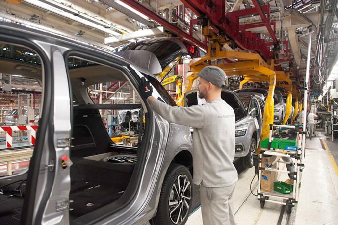 PSA eleva un 2,5% su producción en la planta de Vigo