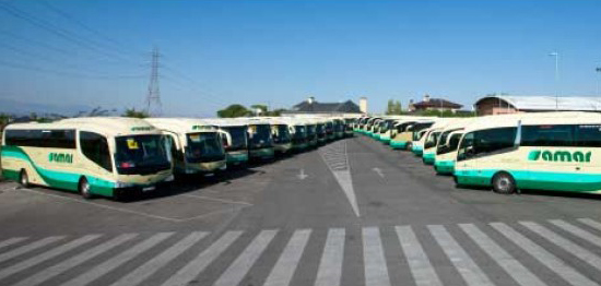 Logitrans accede al accionariado del Grupo Samar de viajeros