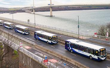 Escocia probará, con pasajeros, una flota de autobuses autónomos