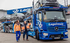 El nuevo Actros, transportador de automóviles por primera vez