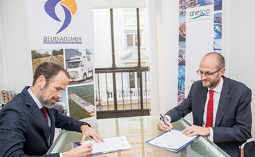 Aeutransmer y Anesco firman un convenio de colaboración