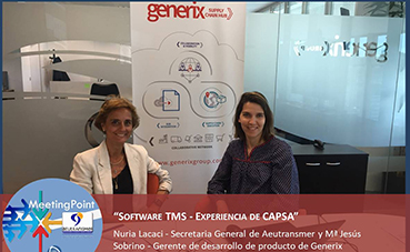 Aeutransmer Meeting Point: 'Software TMS-Experiencia Capsa'
