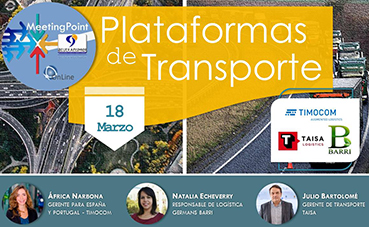 Aeutransmer Meeting Point: Plataformas de transporte