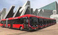 Avanza adquiere 18 autobuses Volvo híbridos articulados para Zaragoza