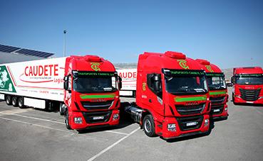 Transportes Caudete renueva su flota confiando de nuevo en Iveco