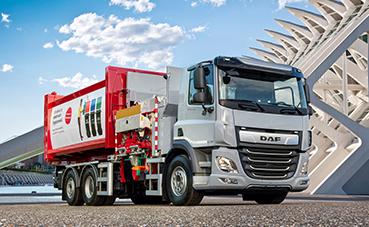 DAF Trucks presenta su CF Eléctrico con chasis rígido 6x2