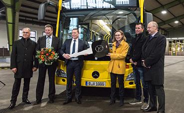 Mercedes-Benz entrega los primeros Citaro a BVG Berlín