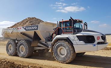 Eiffage escoge dúmperes Volvo equipados con transmisión Allison