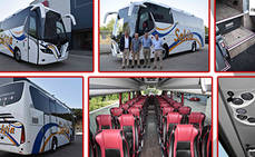 Nogebus entrega tres unidades a tres empresas de autocares