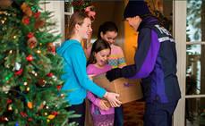 Los envíos durante la campaña de Navidad 2018 crecieron un 18%