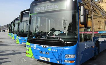Dbus incorporará a su flota diez buses articulados de 18 metros