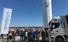 Endesa inaugura su primera gasinera en la Región de Murcia