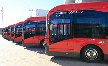Seis nuevos autobuses híbridos para Zaragoza