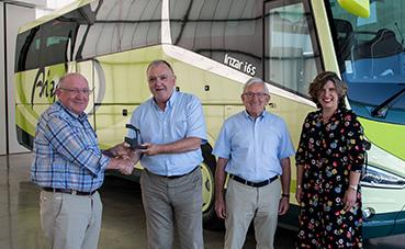 Autocares Aizpurua adquiere un autocar Irizar i6S